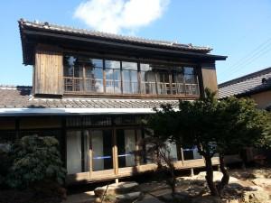 庭園付きの日本家屋