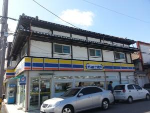 市内に残る日本家屋