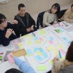 グループ討議 (日韓交流の方策について)